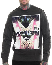 Flysociety - Fly Future Print Sweatshirt