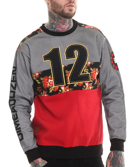 Buyers Picks - Men Red Dime A Dozen Sweatshirt