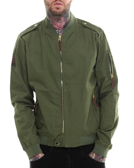 Rocawear - Men Olive U.S. Tundra Twill Jacket