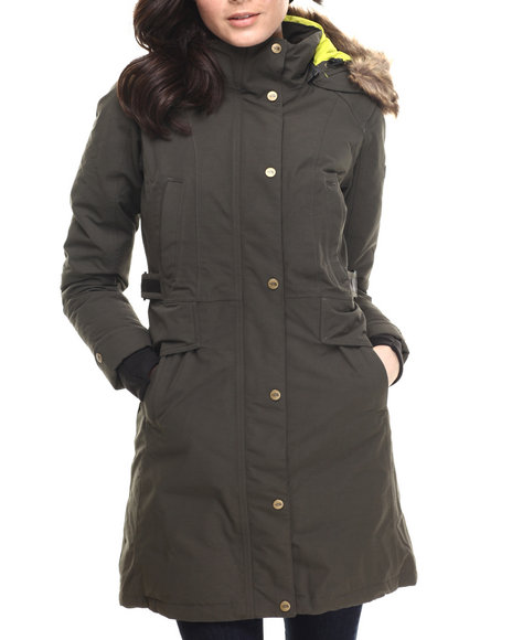 The North Face - Women Forest Green Tremaya Parka