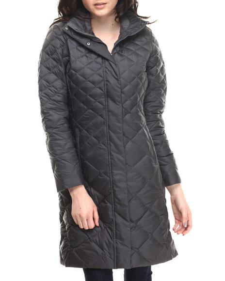 The North Face - Women Charcoal Transit Parka