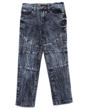 Bottoms - Quilted Motorcross Jeans (4-6X)