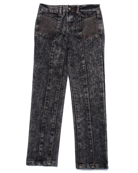La Galleria - Girls Black Speedway Skinny Jeans (7-16)