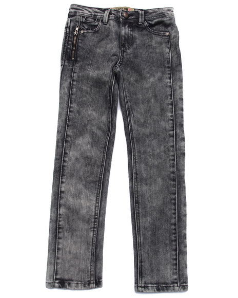 La Galleria - Girls Grey Perfect Frame Skinny Jeans (7-16)