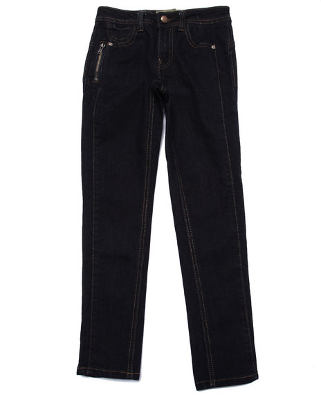 La Galleria - Girls Dark Wash Perfect Frame Skinny Jeans (7-16)