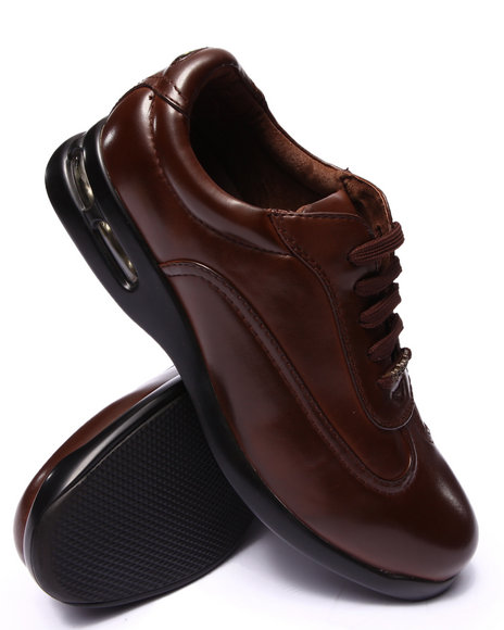 Pelle Pelle - Men Brown Pelle Classic Sneaker Shoe - $58.99