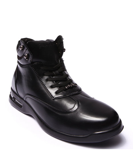 Pelle Pelle - Men Black Pelle Classico Hightop Boot - $44.99