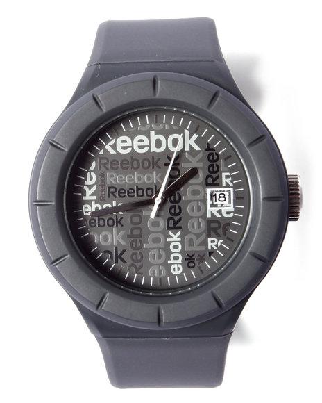 Reebok Men Warm Up Large 42Mm Watch Grey