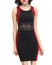 Dresses - Peek A Boo Bodycon Dress