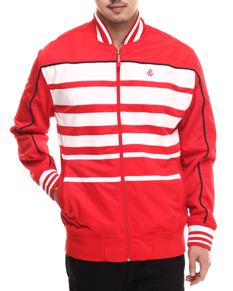 Rocawear - Men Red Streets Track Jacket