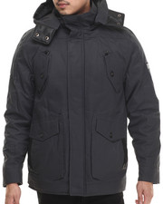 Rocawear - Wax Cotton Twill Jacket w/ Detachable Hood