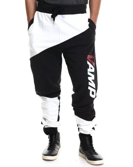 Vampire Life - Men White Vamp Moto Sweatpants