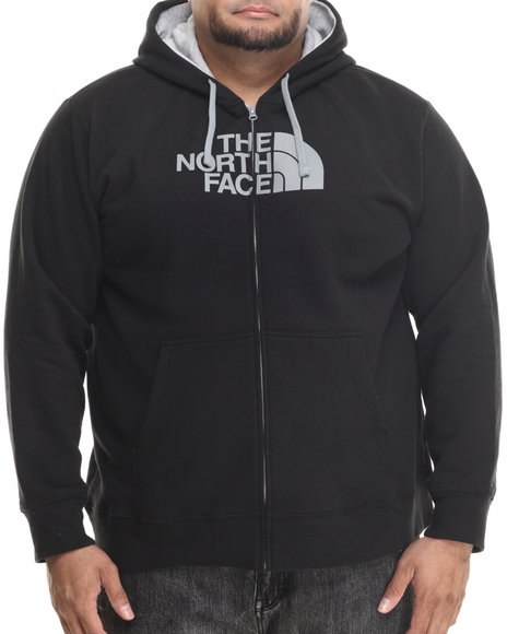 The North Face - Men Black Half Dome Full Zip Hoodie (B&T)