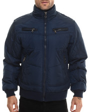 Basic Essentials - Espo Fashion Quilted Bomber Jacket