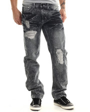 Jeans & Pants - Windsor Ice Wash Rip & Tears Denim Jeans