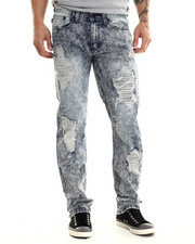 Jeans & Pants - Scotch Reflective underlay ripped detail denim jeans