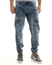 Jeans & Pants - Summit ice wash cargo jogger pants