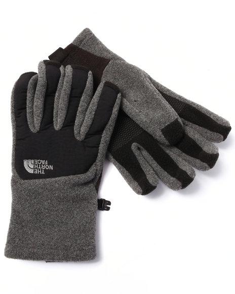 The North Face - Men Grey Denali Etip Gloves