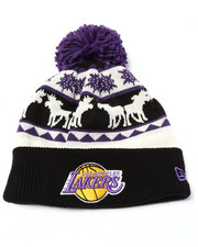 New Era - Los Angeles Lakers Mooser Knit Hat