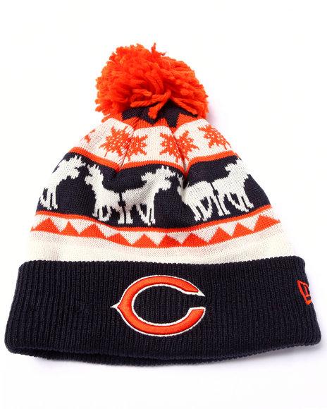 New Era Men Chicago Bears Mooser Knit Hat Multi