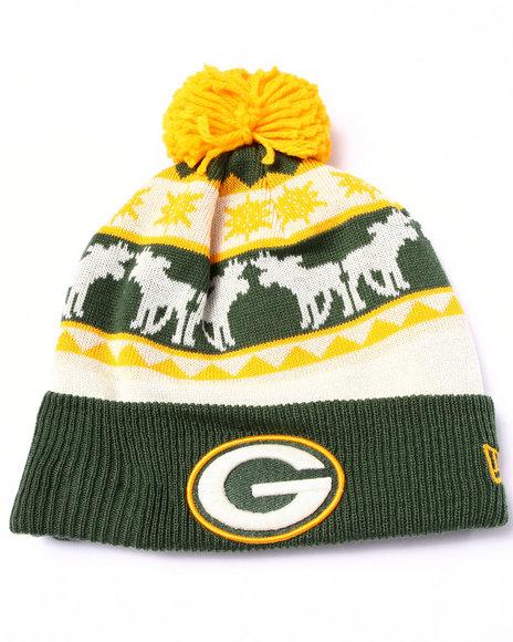 New Era Men Green Bay Packers Mooser Knit Hat Multi
