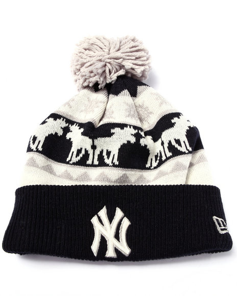 New Era Men New York Yankees Mooser Knit Hat Multi