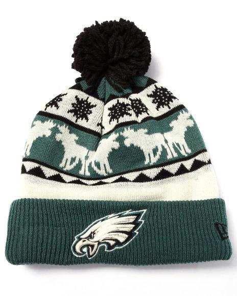 New Era Men Philadelphia Eagles Mooser Knit Hat Multi