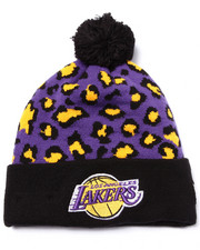 New Era - Los Angeles Lakers Winter Jungle Knit Hat