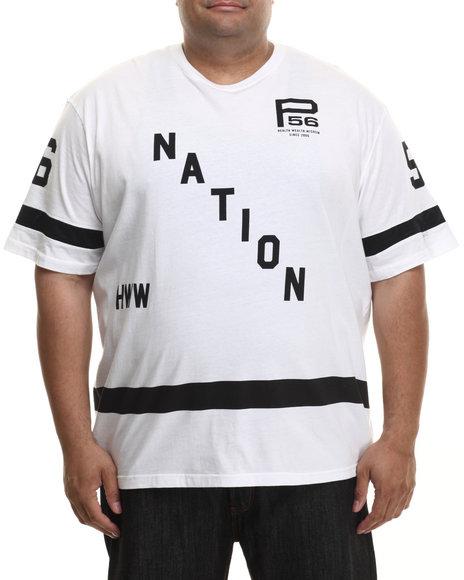 Parish - Men White Graphic S/S T-Shirt (B&T)