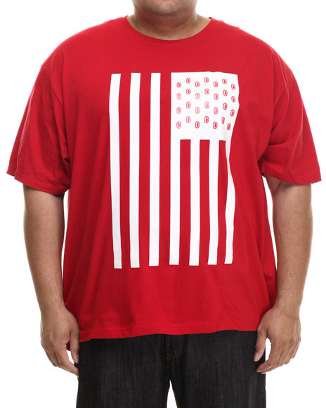 Ur-ID 200771 Ecko - Men Red Flag T-Shirt (B&T)