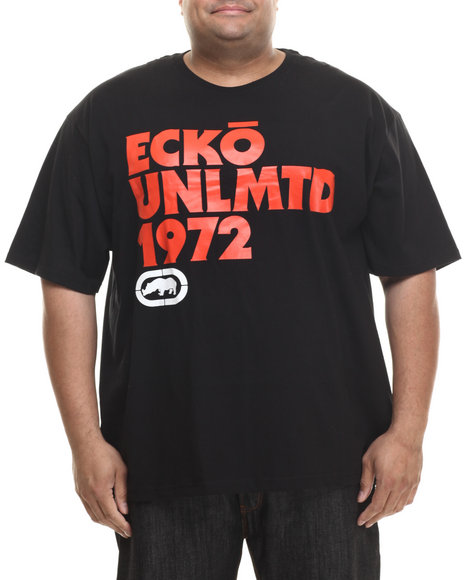 Ecko - Men Black Ecko Ok Script T-Shirt (B&T)
