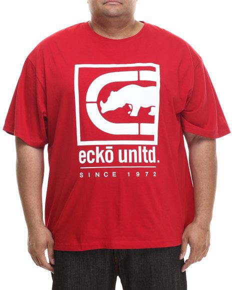 Ecko - Men Red Block Rhino T-Shirt (B&T)