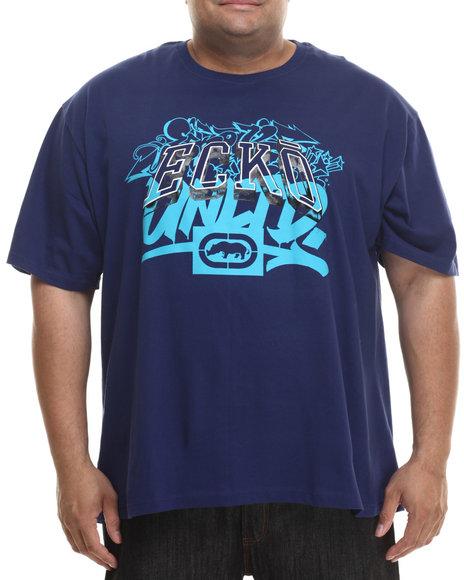 Ecko - Men Navy Gold Script T-Shirt (B&T)