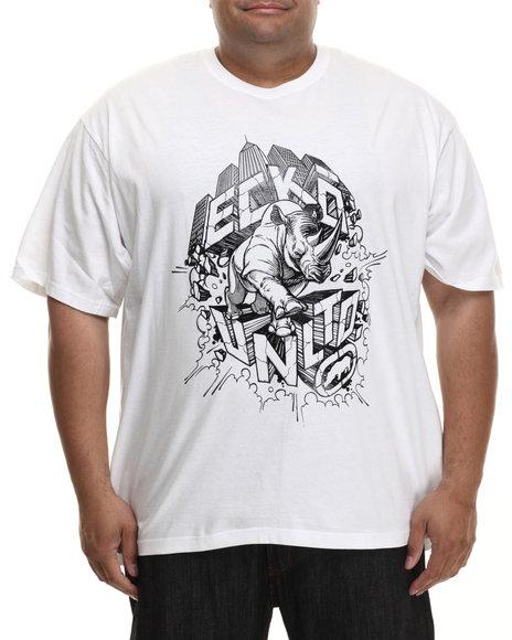 Ecko - Men White Rhino City T-Shirt (B&T)