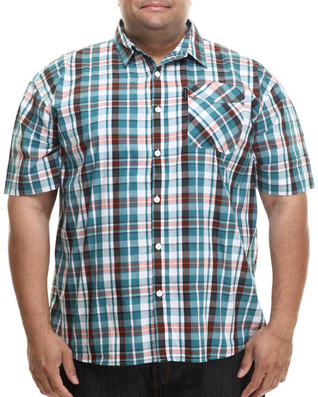 Ecko - Men Green Marina S/S Button-Down (B&T)