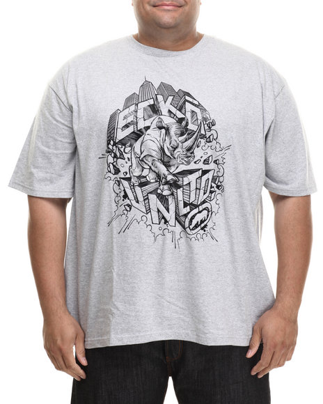 Ecko - Men Grey Rhino City T-Shirt (B&T) - $32.50