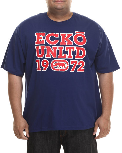 Ecko - Men Navy Block 72 T-Shirt (B&T)
