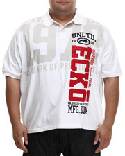 Men - Vertical Ecko Polo (B&T)