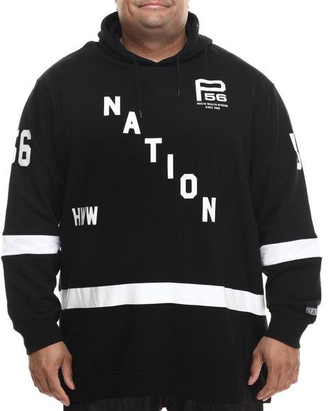 Parish - Men Black Hockey Hoodie (B&T)