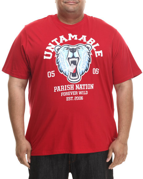 Parish - Men Red Beast S/S T-Shirt (B&T)