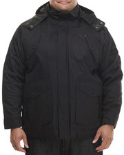 Men - Wax Cotton Twill Jacket w/ Detachable Hood (B&T)