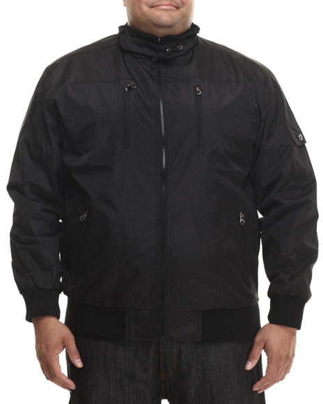 Basic Essentials - Men Black Draft Lightweight Jacket (B&T)