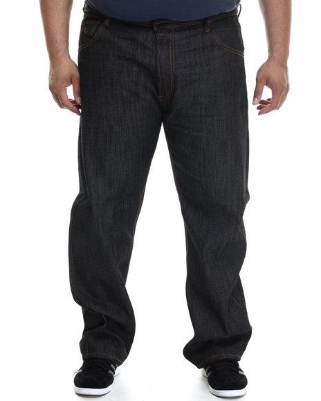 Rocawear - Men Black R Script Jeans (B&T)