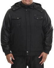 Rocawear - Bomber Jacket w/ Detachable Hood (B&T)
