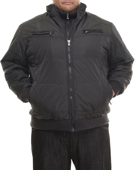 Basic Essentials Charcoal Heavy Coats