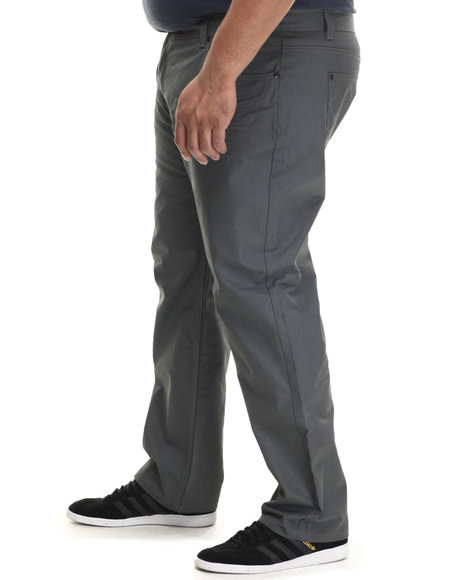 Akademiks - Men Grey Robertson Coated Denim Pants (B&T)