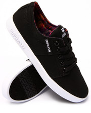 Supra - Stacks 2 Black Canvas Sublimated Aurora Print Sneakers