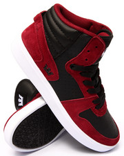 Supra - Sphinx Burgundy Suede/Black Leather Sneakers
