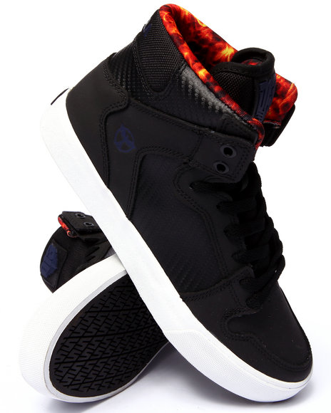 Ur-ID 206703 Supra - Men Black The Hunger Games Vaider District 13 Sneakers
