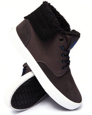 Supra - Passion Grey Suede/Canvas Sneakers